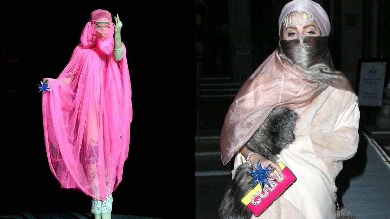 Illustration for article titled Lady Gaga Has a Burqa Problem