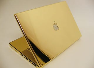 Illustration for article titled Giz Interview: Creator of Gold Macbook Pro Talks Macs That Match Our Teeth