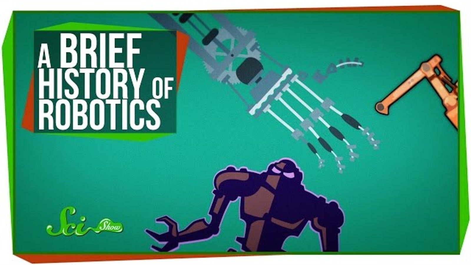 A Ten-Minute History of Robotics