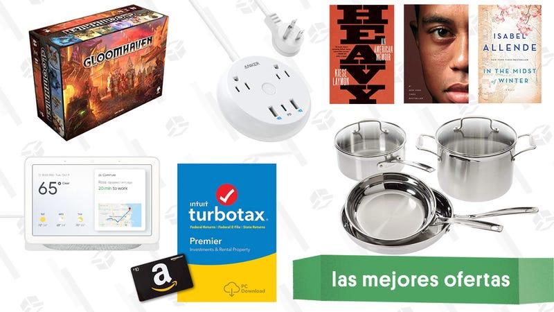 Illustration for article titled Las mejores ofertas de este viernes: Día Digital en Amazon, TurboTax, Google Home y más