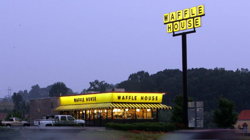 image Waffle house phat back gray legging