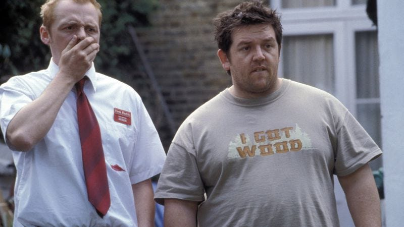 Illustration for article titled Simon Pegg and Nick Frost to appear on Phineas And Ferb as their Shaun Of The Dead characters