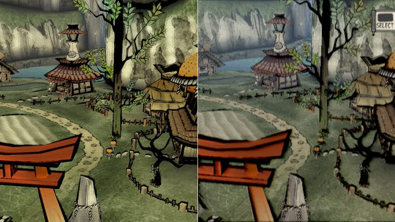 Illustration for article titled How Does HD Okami Compare to the Original? See for Yourself.