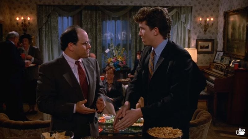 """Illustration for article titled Is """"double dipping"""" chips really as bad as Seinfeld makes it out to be?"""