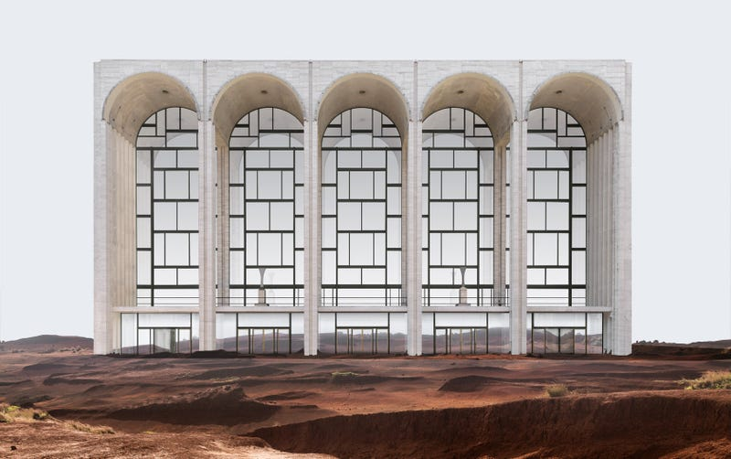 The Metropolitan Opera, but where? All images: Misplaced