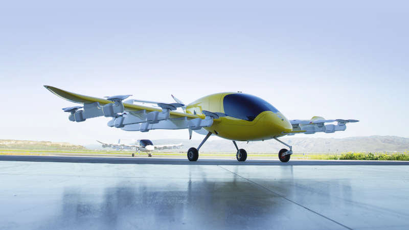 Illustration for article titled Here's Our First Look at Kitty Hawk's Ambitious Autonomous Air Taxi