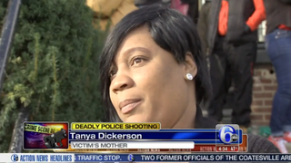 Brandon Tate-Brown's mother, Tanya Dickerson, also known as Tanya Brown6ABC ACTION NEWS SCREENSHOT