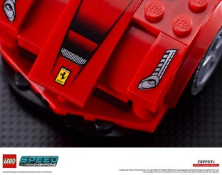 Illustration for article titled Lego announces partnership with Ferrari, McLaren and Porsche