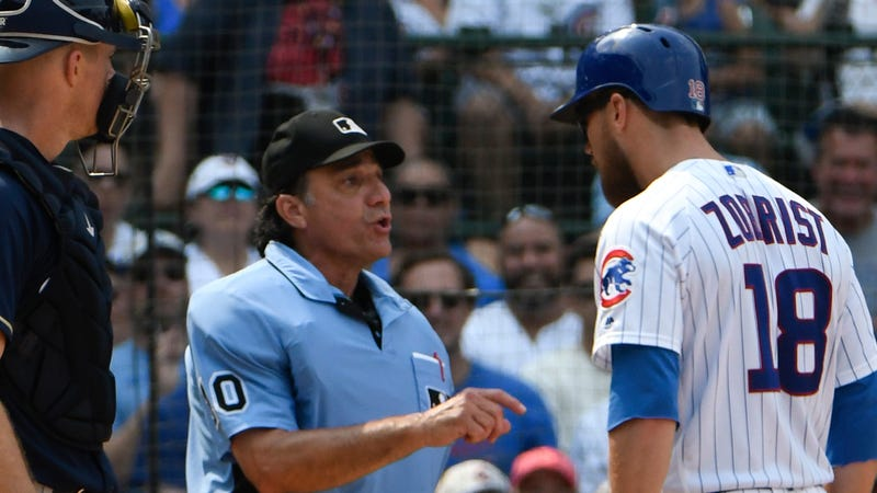 Illustration for article titled Ben Zobrist Is Still Very Much Looking Forward To Robot Umpires