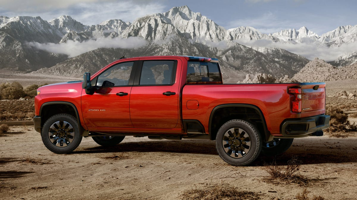 The 2020 Chevrolet Silverado Hd Duramax Diesel Can Tow Up To 35 500
