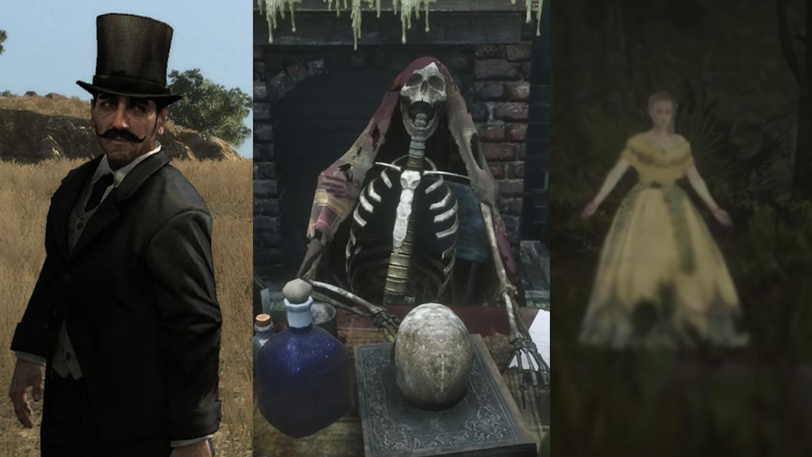 Ovnis Fantasmas Y Gente Paranormal En Red Dead Redemption 2