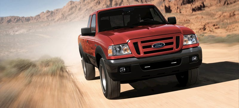 Illustration for article titled Every 2004 To 2006 Ford Ranger Is Being Recalled Over Deadly Airbags