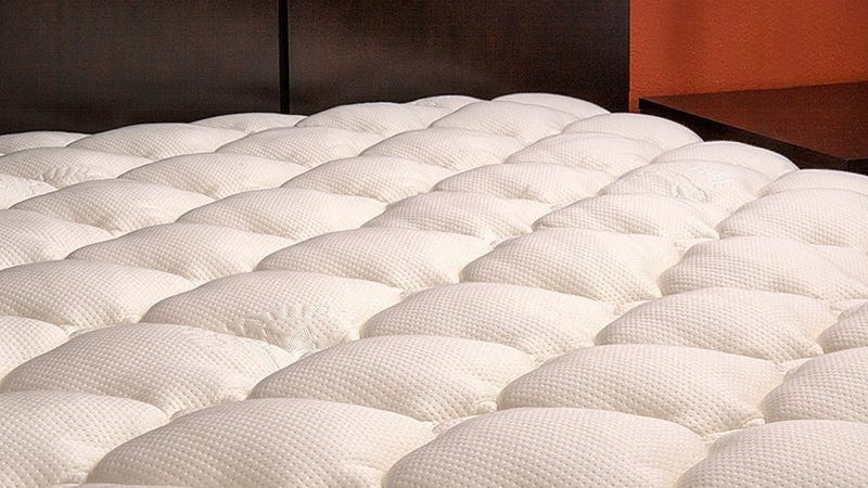 Bamboo Top Fitted Mattress Pads, $75-$90
