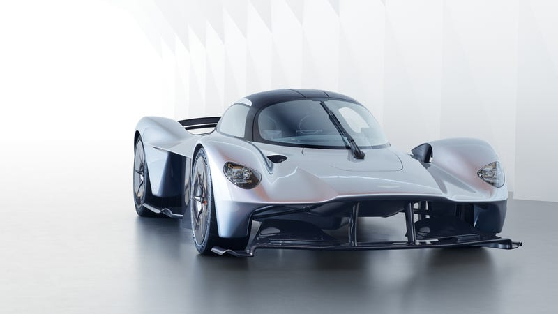 Illustration for article titled Aston Martin Has Updated The Valkyrie To Be Even More Unbelievable