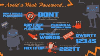 Illustration for article titled Use This Infographic to Pick a Good, Strong Password