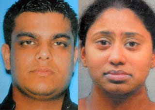 Murder suspects Kashif Parvaiz and Antoinette Stephen