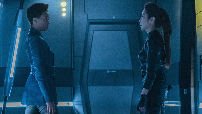 Michael and Georgiou form an uneasy alliance again on a plodding Star Trek: Discovery.