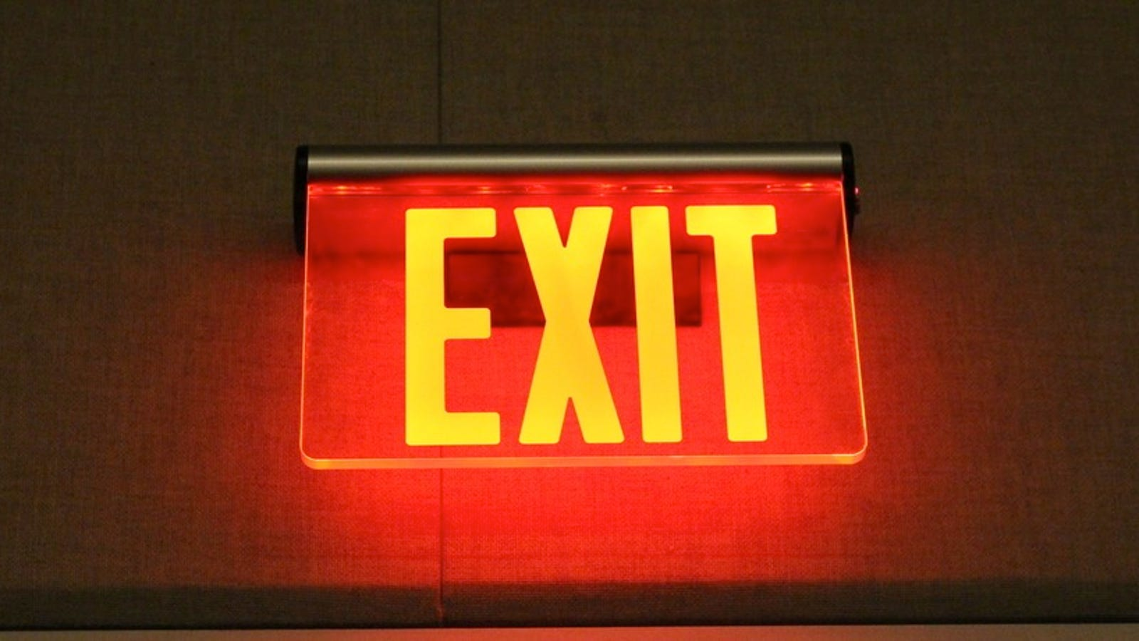 The Secret History of Emergency Exits