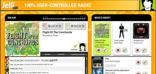 Illustration for article titled Jelli Brings User-Driven Content to Online Radio