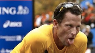 Illustration for article titled Lance Armstrong Stepped To Tyler Hamilton Outside A Boys Room In Aspen On Saturday