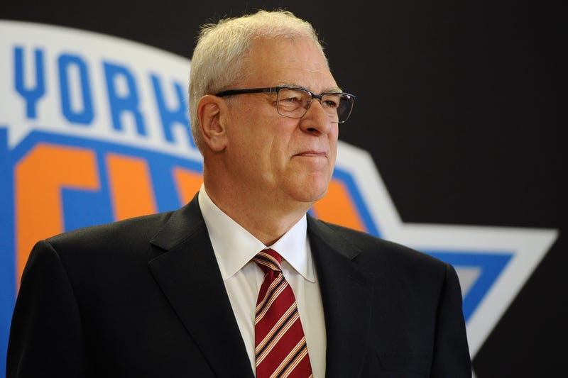 Illustration for article titled Exactly How High Is Phil Jackson, This Time?