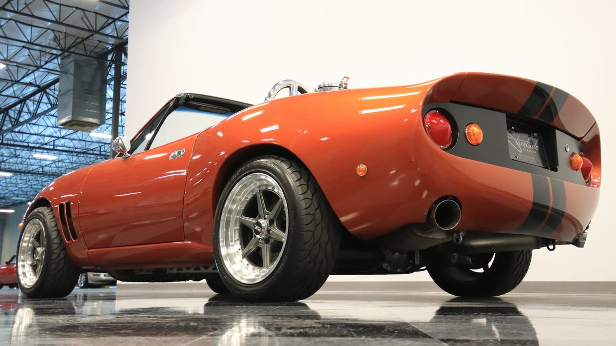 At $26,995, Is This Custom 1990 V8 Mazda Miata A Total Work Of NART?