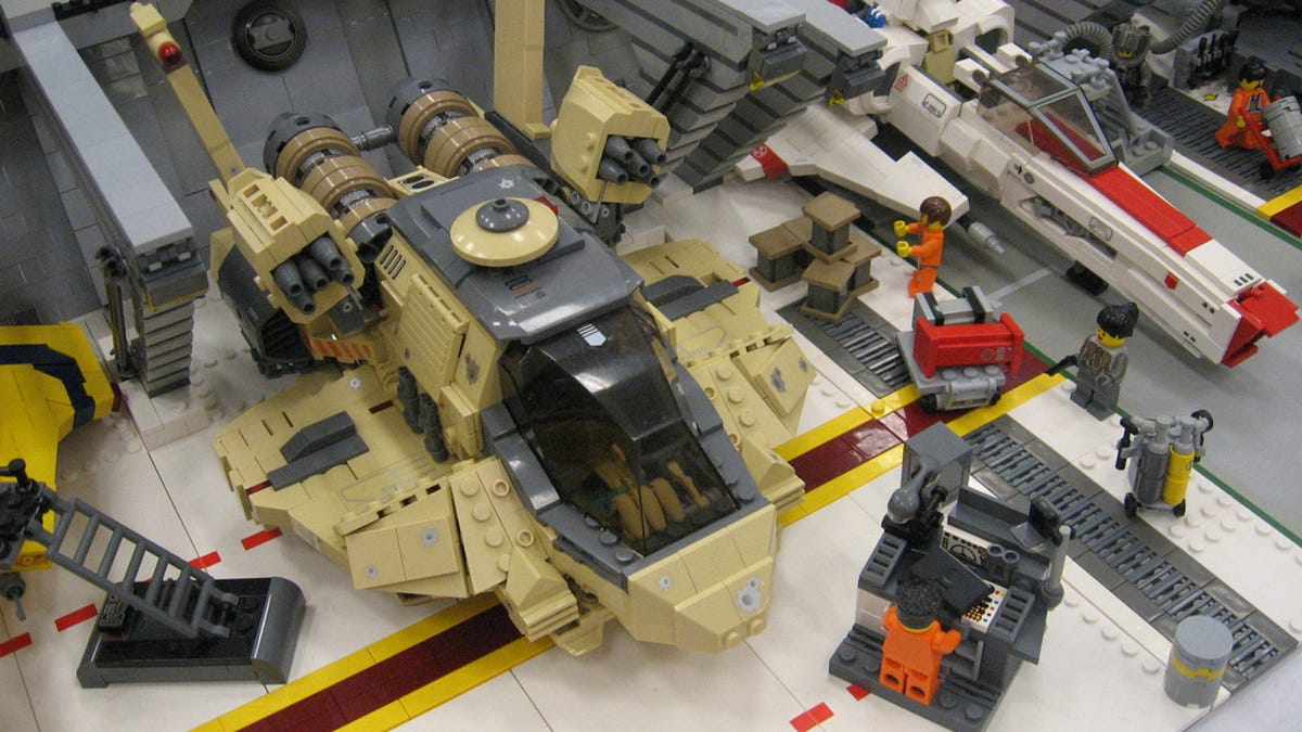 Lego Galactica Clusterfrak So Big It Can Probably Crush A Real Cylon