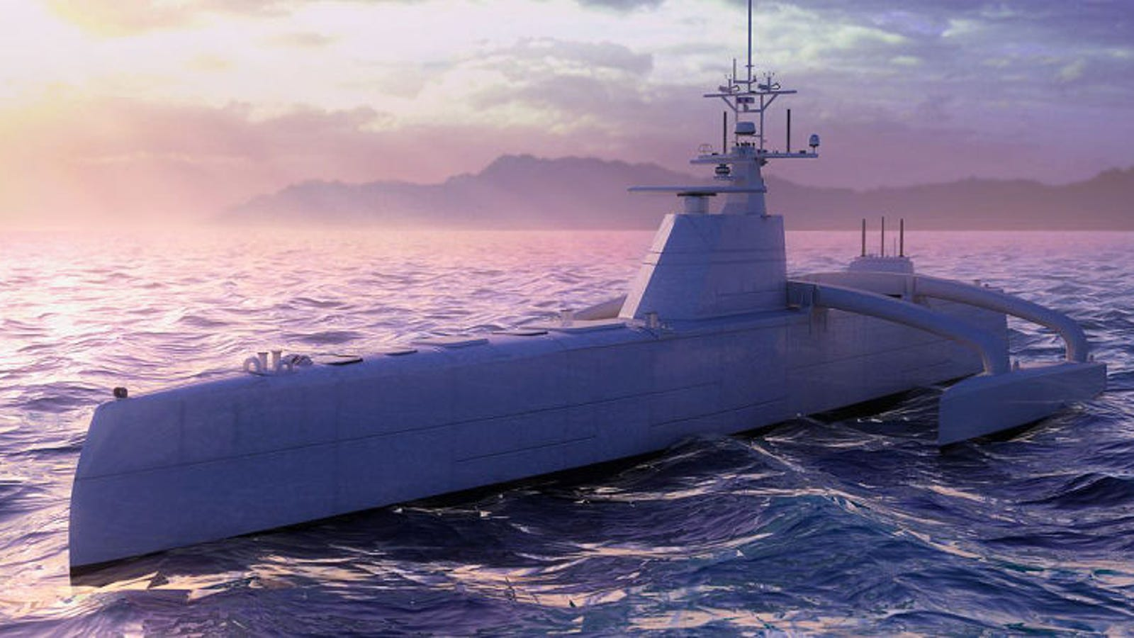 DARPA's New Autonomous Submarine-Hunter Could Change Naval Combat Forever