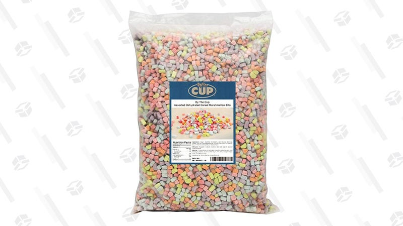 Assorted Dehydrated Cereal Marshmallows, 3-Pound Pack | $18 | Amazon
