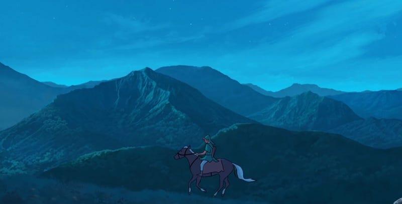 Illustration for article titled Zelda vs Studio Ghibli: A Trailer
