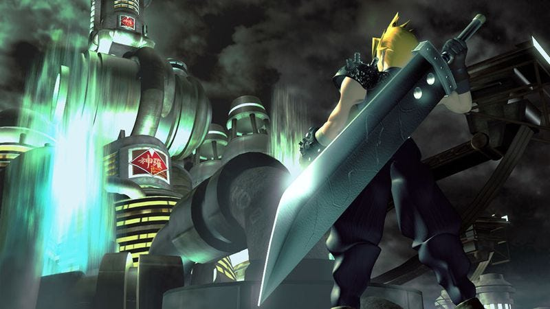Screenshot: Final Fantasy VII/Square Enix