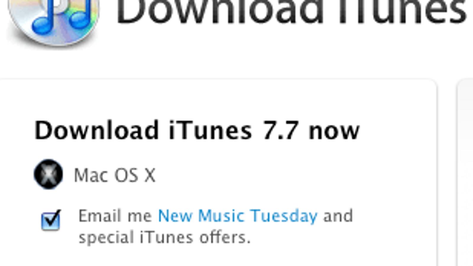 Itunes 7 Download
