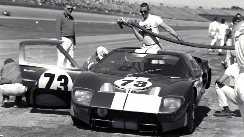 the amazing history of fords greatest supercar - 1966 Ford Gt40 Interior