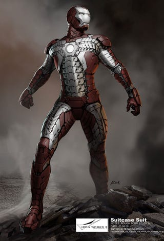 Illustration for article titled Iron Man 2 Concept Art