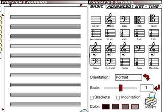 Illustration for article titled Print Free Sheet Music at BlankSheetMusic