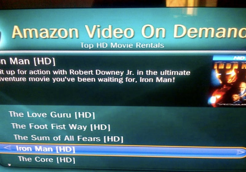 Illustration for article titled Amazon HD Video On Demand Now Beta Testing On Select TiVo Devices
