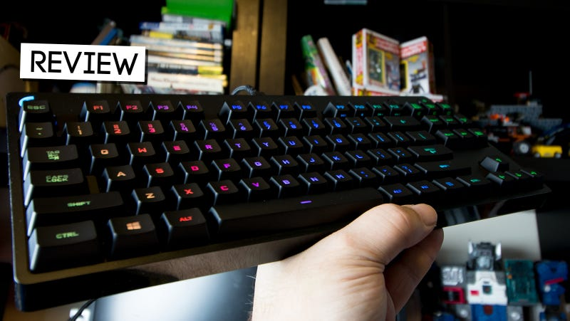 61508b0830d Illustration for article titled Logitech G Pro Gaming Keyboard Review:  Professional Grade