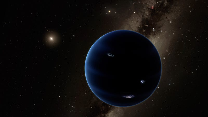 Artist's impression of the hypothetical Planet Nine. (Credit: Caltech/R. Hurt (IPAC))