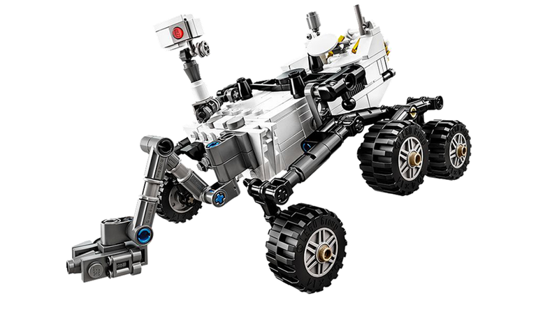 Illustration for article titled The Lego Mars Curiosity Rover is now available for sale