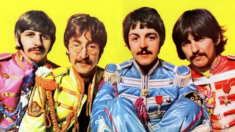 """Illustration for article titled The Beatles make """"A Day In The Life"""" flash before your eyes"""
