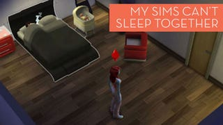 Illustration for article titled I Can't Figure Out Why My Sims Are Refusing To Sleep With Each Other