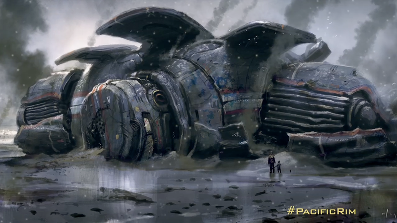 Illustration for article titled The Origins Of Pacific Rim's Giant Robots Explained