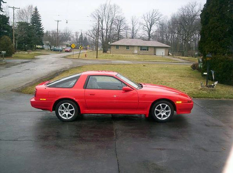 Craigslist Find Of The Night 355 Small Block In A 1989 Toyota Supra