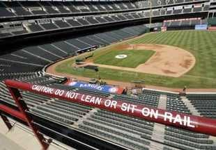 Illustration for article titled Texas Rangers Will Raise All Ballpark Rails To 42 Inches