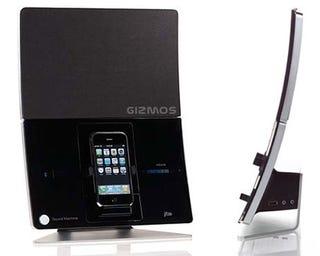 Illustration for article titled Former Apple Designer Creates Sound Machine iPhone Dock