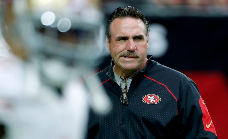 Illustration for article titled The Biggest NFL Story Today Is Whether Jim Tomsula Farted At A Press Conference