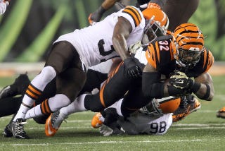 Illustration for article titled Bengals RB Jeremy Hill Says The 6-3 Browns Are Still Bad