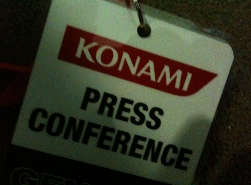 Illustration for article titled Konami E3 Liveblog Is Right Here, Hopefully With Lightning And Whips