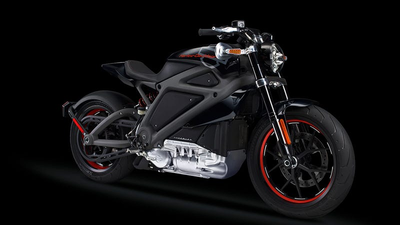 Illustration for article titled ​What Harley-Davidson's First Electric Motorcycle Means For America's Future