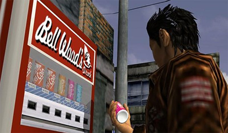 There Sure Are A Lotta Soda Machines In Video Games - Monkey knows how to operate vending machine